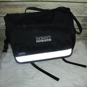 Patagonia Black Messenger Crossbody Laptop Bag